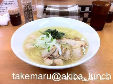 富白☆鶏ぶた塩拉麺