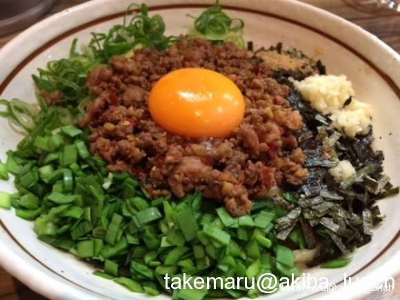濃厚スタミナ系台湾まぜそば、はじまったな☆麺屋はるか