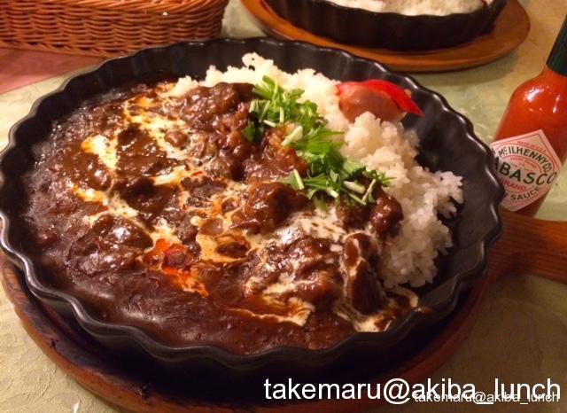 お肉と野菜がじっくりと煮こまれた懐かし風味のビーフシチュー☆軽井沢(・・・でも御徒町にあるの)