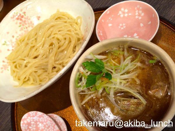鶏と貝のつけ麺3