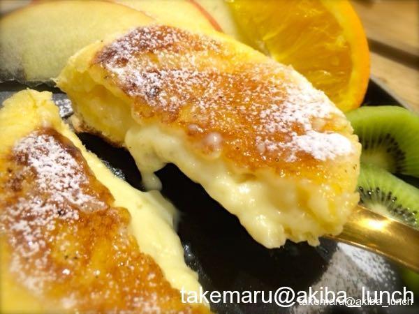 八天堂「くりーむパン」の発展形!? のサンドイッチとフレンチトースト☆HACHI PAN CAFE(はちパンカフェ)@秋葉原