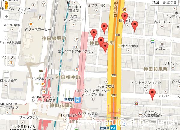 着いたらまずは腹ごしらえ!! 秋葉原駅から徒歩5分以内のランチ店リスト☆MAP付き☆