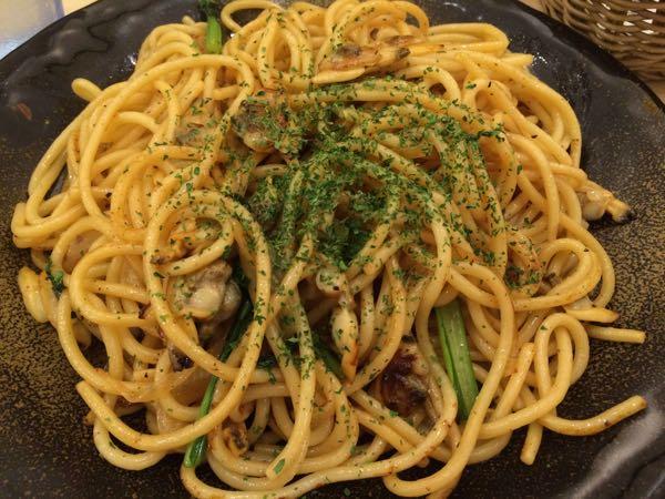 しょうゆあさりスパゲティです