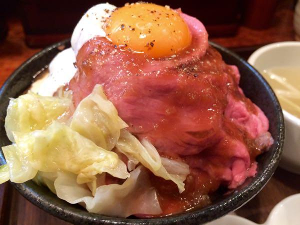 和牛ローストビーフ丼2