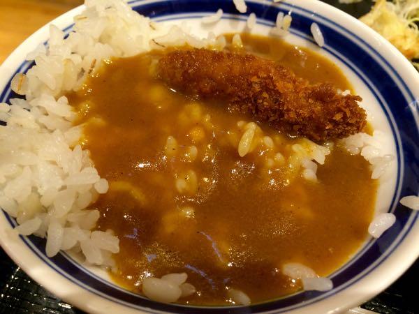 京都勝牛・カレーライス