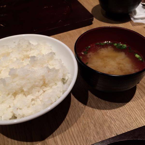 東京トンテキ・ご飯&味噌汁
