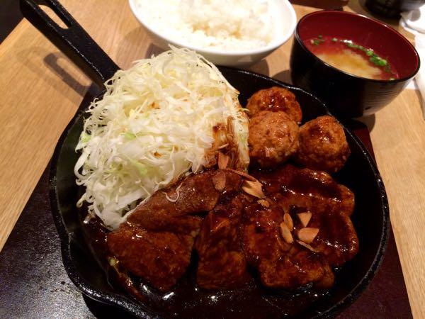 東京トンテキ・トンテキ定食1