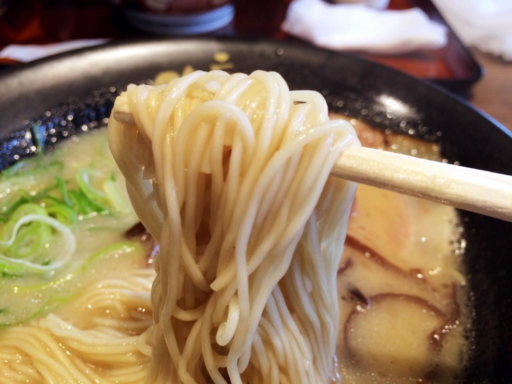 二男坊ラーメン・麺