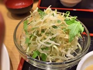 舞豚・サラダ