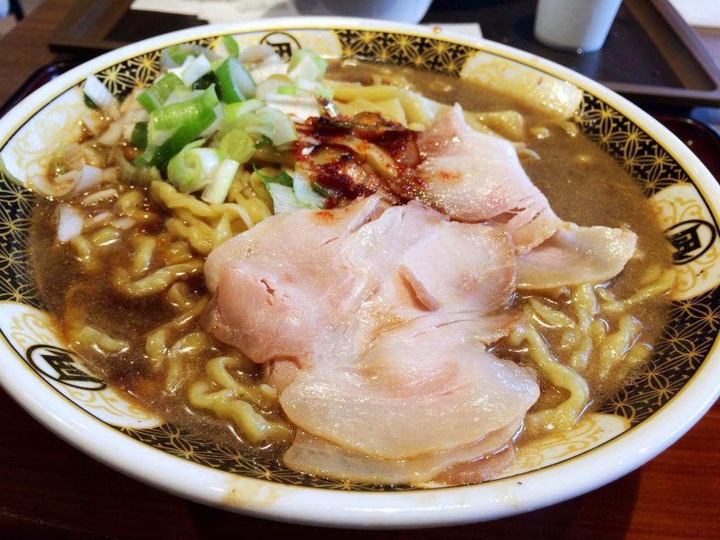 ラーメン凪・すごい煮干ラーメン