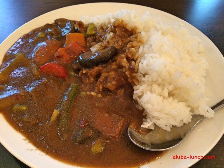 欧風カリーM・野菜カレー