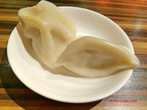 陳家私菜・ランチ水餃子