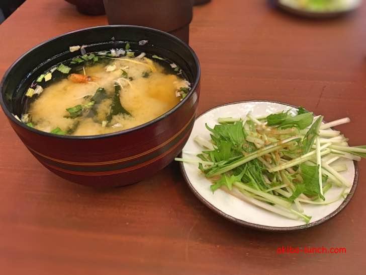 ヤキトンヤリキ・ランチ副菜