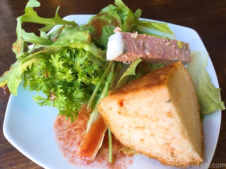 Casa di SIVATA(カーサ ディ シバタ)_前菜&パン