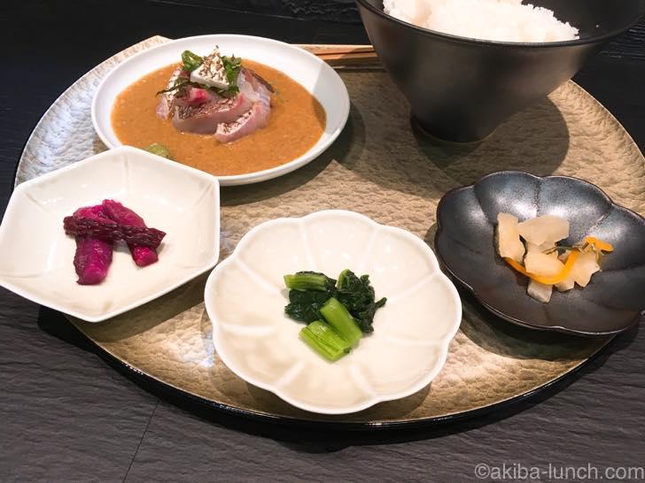 鯛茶STAND_お漬物